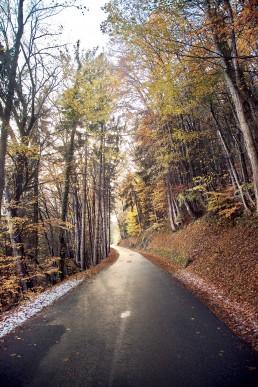 Photographie route Savoie Albertville